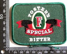 VINTAGE CUB FOSTER'SSPECIAL BITTER EMBROIDERED PATCH WOVEN CLOTH SEW-ON BADGE