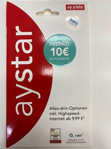 01777756754 Prepaid VIP Ayyildiz inkl. 10€ Startguthaben