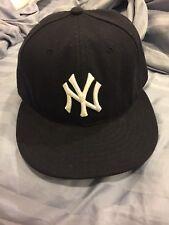8e5fff48911 New Era Authentic NEW YORK YANKEES MLB Baseball Cap Blue Hat On Field 7 1