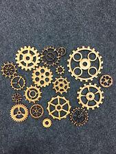 3mm MDF Wooden Cogs assorted designs