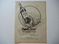 ORIGINAL Blatt aus der Zeitschrift JUGEND 1916 - Asbach Armee Uhren (W141)