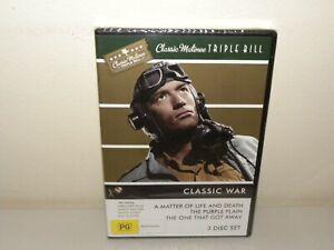 Classic WAR MOVIES ( 3 Disc DVD ) REGION 4 - NEW & SEALED