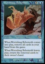 MTG 4x WORMFANG BEHEMOTH - Judgment *Rare Beast*