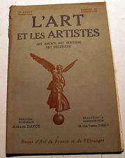 ART DECO/L'ART ET LES ARTISTES/1924/N°44/GREUZE//T.ROBERT/C.DEBUSSY