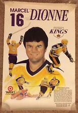 Vintage Marcel Dionne Retirement LA Kings Poster NHL Hockey
