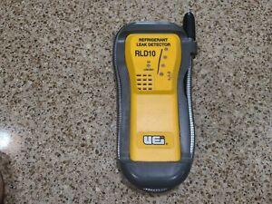 UEi Test Instruments RLD10 Refrigerant Leak Detector - Missing Battery Cover