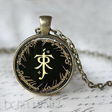 The Hobbit Lord of the Rings Tolkien Necklace Pendant Bronze Necklace jewelry