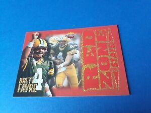 Brett Favre 1997 Score Board RED ZONE STATS #RZ4 HOF Rare Very Sharp Card