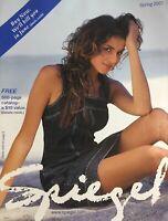 Spring 2001 SPIEGEL Fashion Catalog BASIA MILEWICZ / VALERIA MAZZA / YAMILA DIAZ