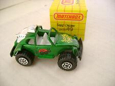1983 MATCHBOX SUPERFAST #49 VW BUG VOLKSWAGEN SAND DIGGER MIB
