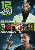 12 Film Urban Action Pack DVD Box Set Morgan Freeman, Cuba Gooding Jr.