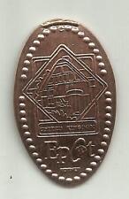 1 copper elongated penny (cent) Disneyworld Fl United Kingdom Pavilion Epc0058