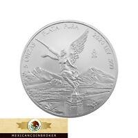 """2020 Mexico 5oz Silver Libertad Onza - BU *Treasure Coin Of Mexico ™""""Pre-Sale"""