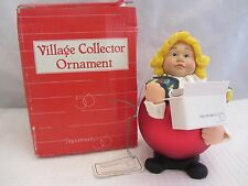 Dept 56 Village Collectors Ornament with box #18591 (Ab316Gc)
