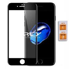 Cristal Templado Completo 3D 5D IPHONE 7 / 8 / SE 2020 CURVO NEGRO p823 vr