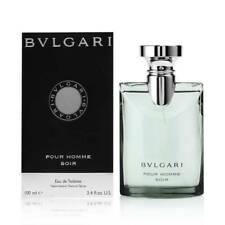 BVLGARI  SOIR POUR HOMME EAU DE TOILETTE for men  100 ml NEW