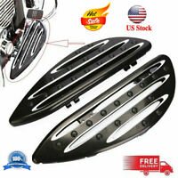 Front Driver Stretched Floorboards Footpeg For Softail Fat Boy FLSTF 1990–2014