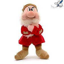 Disney Snow White Seven Dwarves Grumpy Dwarf Soft Plush Stuffed Doll Toy 30 cm