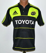 MUNSTER RUGBY TEAM SHIRT JERSEY ADIDAS SIZE YL BOYS