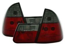 FEUX ARRIERE NOIR ROUGE CRISTAL BMW SERIE 3 E46 TOURING 1999-2005 318d 320d 330