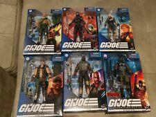 Hasbro GI Joe Classified Lot. Duke Cobra Commander Scarlett Gung Ho Roadblock