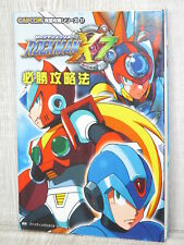 Rockman X7 Megaman Guide Play Station 2 2003 Buch FT96