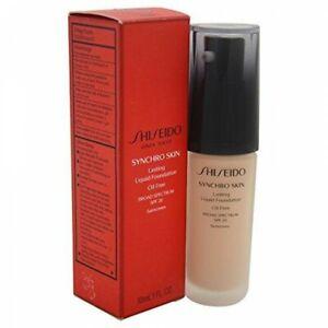 Shiseido Synchro Skin OIL FREE Liquid Foundation Rose 5 SPF 20 NIB Retail $45.00