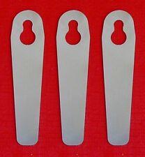 Verbesserte Güde / Einhell Ersatzmesser für Rasentrimmer aus Metall
