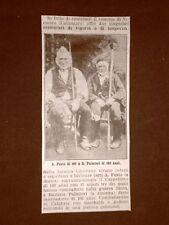 Centenari A Fusto di 107 anni e Battista Palmieri di 102 anni Nicastro Catanzaro