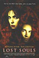 LOST SOULS MOVIE POSTER ~ ORIGINAL 27x40 Winona Ryder