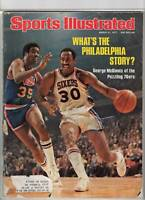 1977 Sports Illustrated magazine George McGinnis, Philadelphia 76ers basketball