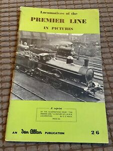 Vintage Locomotives of the Premier Line in Pictures book - 40 pgs  colour photos