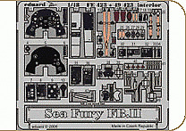 Eduard 1/48 Sea Fury FB.II interior (self adhesive) PRE-PAINTED