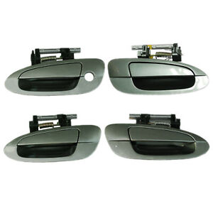 Reinforced Outside Outer Door Handle Front & Rear Set 4 For 02-06 NISSAN ALTIMA