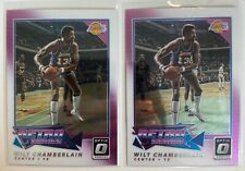 Wilt Chamberlain 2017-18 Panini Donruss Optic x2 Retro Series Chrome Insert Lot