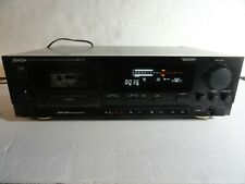 New ListingDenon Drm-700 Vintage 3 Head Stereo Cassette Tape Deck. Made in Japan! Tested.