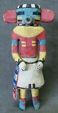 "1940's Hopi Rugan Corn Dancer Harvester 8"" Katsina Kachina Doll All Original"