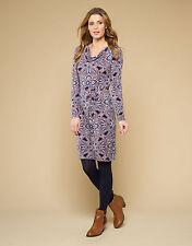 Monsoon Scoop Neck Long Sleeve Tunic Dresses for Women