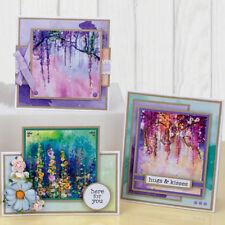 14PCS Scenery Craft Paper DIY Photo Album Background Scrapbooking Card Decor