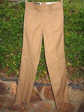 Vintage HUNTING WORLD NYC Safari SLACKS Pant BROWN - Size 32 - Mint in Bag - NOS