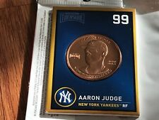 2018 BASEBALL TREASURE COIN Aaron Judge