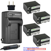 Kastar Battery AC Charger for Canon BP-970G BP-945 & Canon Optura Optura Pi