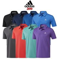 Adidas Golf Ultimate 365 2.0 Solid Logo Chest Short Sleeve Polo Shirt