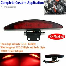 E-Marked Motorcycle Led Brake Taillight Integrated Lamp Fit Harley Bobber Custom (Fits: American IronHorse)