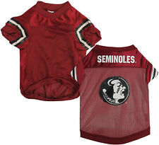 Sporty K-9 Ncaa Florida State Seminoles Football Dog Jersey