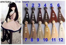 25*100cm Fashion Doll Wigs BJD/SD Doll Hair DIY Colorful Hair Wigs For Dolls Toy