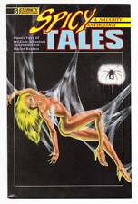 SPICY TALES #5 - 1989 Eternity Comics - pre-code pulp comic strip reprints