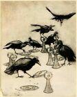 ARTHUR RACKHAM 1916 CROWES 8 X 10 ART PRINT