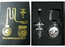 Set fullmetal Alchemist colgante reloj anillo necklace ring watch SHIPS WORLDWD