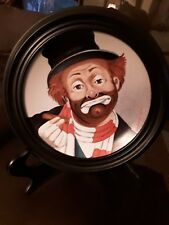 """Freddie The Freeloader"" Collector Plate By Red Skelton *Hand Signed* M.I.B."